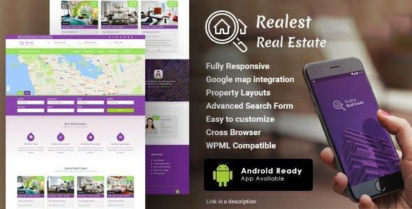 Realest – Real Estate WordPress Theme 1
