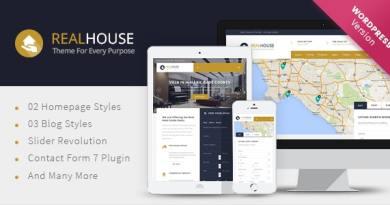 Realhouse - Real Estate WordPress theme 2