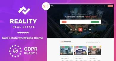 Reality | Estate Multipurpose WordPress Theme 3