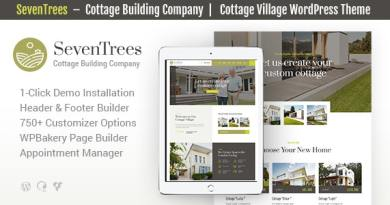 SevenTrees | Real Estate Property WordPress Theme 3