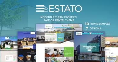 Single Property Real Estate - Estato 5