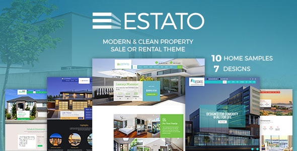 Single Property Real Estate - Estato 8
