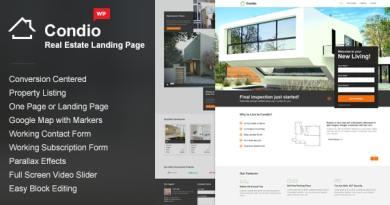Single Property WordPress Theme - Condio 6