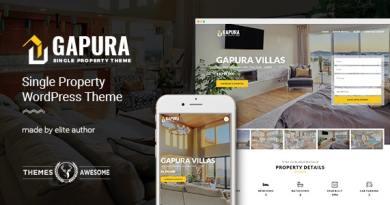 Single Property WordPress Theme - Gapura 3