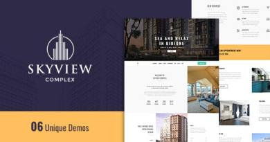 Skyview Complex - One Page Single Property WordPress Theme 12