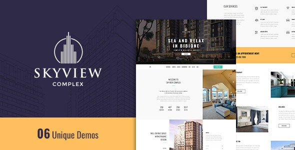 Skyview Complex - One Page Single Property WordPress Theme 16