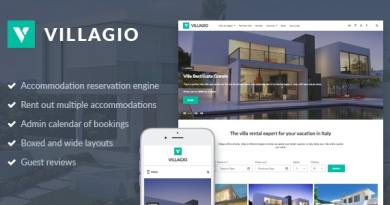 Vacation Rental WordPress Theme - Villagio 2