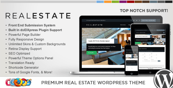 WP Pro Real Estate 6 Responsive WordPress Theme 6