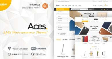 Ace - Accessories AJAX Woocommerce Theme 2