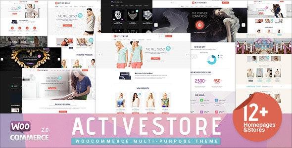 ActiveWear WooCommerce Responsive WordPress Theme 1