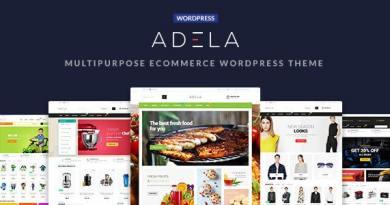 Adela Multipurpose WooCommerce WordPress Theme 2