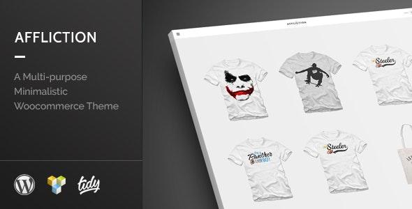 Affliction - Multipurpose Minimal WordPress WooCommerce Theme 1