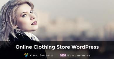 AhaShop - WordPress Theme for Fashion Clothing Store 3