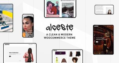 Alceste - A Clean and Modern WooCommerce Theme 2