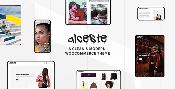 Alceste - A Clean and Modern WooCommerce Theme 1