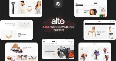Alto | Awesome Ajax WooCommerce Theme 2