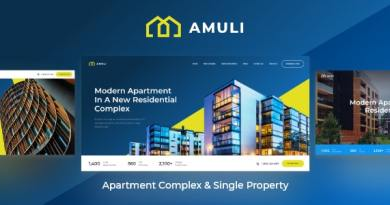 Amuli | Property & Real Estate WordPress Theme 4