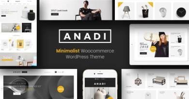 Anadi - WooCommerce Furniture WordPress Theme 4