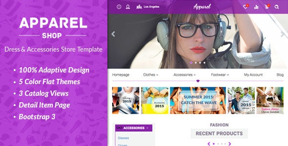 Apparel – Clothes and Accessories WooComerce Theme 1