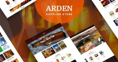 Arden - Modern Brewery & Pub WordPress Theme 3