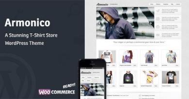 Armonico - A Stunning Tee Store WordPress Theme 3