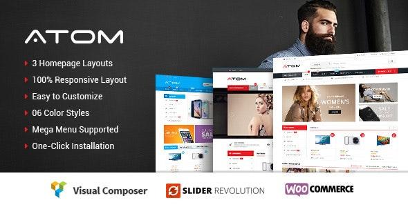 Atom - Responsive WooCommerce WordPress Theme 5