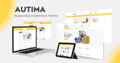 Autima - Car Accessories Theme for WooCommerce WordPress 2