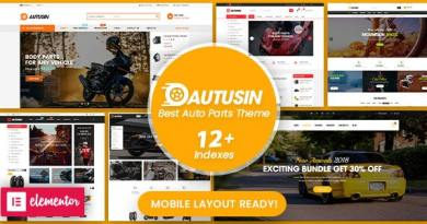 Autusin - Auto Parts & Car Accessories Shop WordPress WooCommerce Theme (12+ Homepages Ready) 17