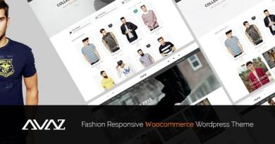 Avaz - Fashion Responsive WooCommerce Wordpress Theme 6
