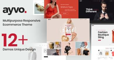Ayvo - Fashion Multipurpose WordPress Theme 2