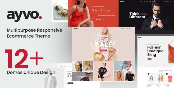 Ayvo - Fashion Multipurpose WordPress Theme 3
