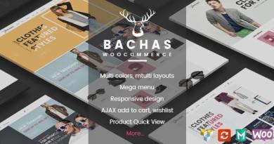 Bachas - Responsive WooCommerce WordPress Theme 4