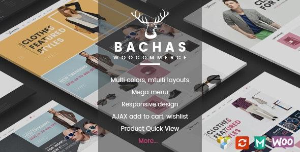 Bachas - Responsive WooCommerce WordPress Theme 1