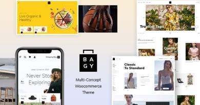 Bagy - Fashion WooCommerce Theme 3