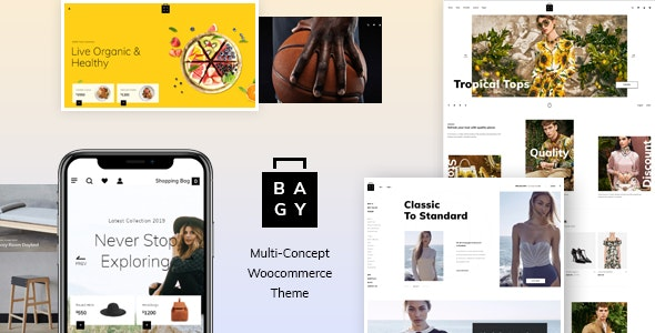 Bagy - Fashion WooCommerce Theme 6