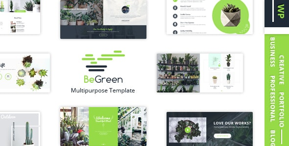 BeGreen - Multi-Purpose WordPress Theme for Planter - Landscaping- Gardening 33