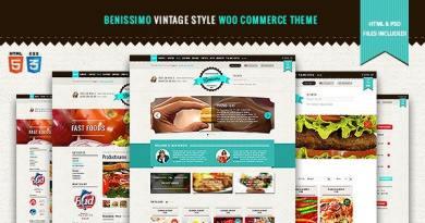 Benissimo — Vintage Style WooCommerce Theme 2