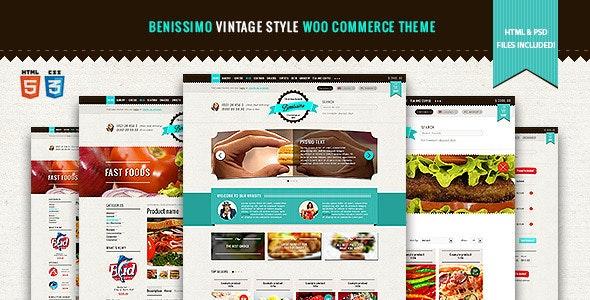 Benissimo — Vintage Style WooCommerce Theme 10