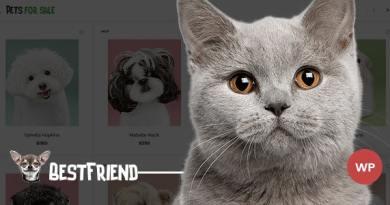 Bestfriend - Pet Shop WordPress WooCommerce Theme 4