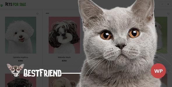 Bestfriend - Pet Shop WordPress WooCommerce Theme 1