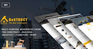 BeStruct - Construction & WooCommerce WordPress Theme 4