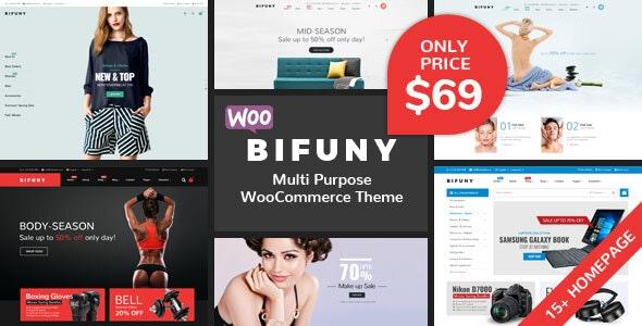 BIFUNY - Multipurpose WooCommerce WordPress Theme 1