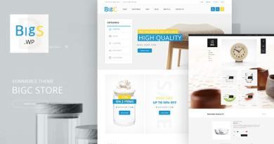 Big Shop - Furniture RTL Responsive WooCommerce WordPress Theme 3
