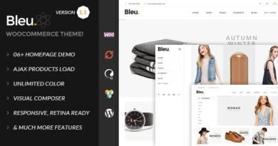 Bleu - Fashion Responsive WooCommerce Theme 2