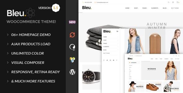 Bleu - Fashion Responsive WooCommerce Theme 12