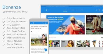 Bonanza - Responsive Multipurpose WooCommerce WordPress Theme 2
