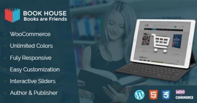 Book House WordPress - BookShop WP 12