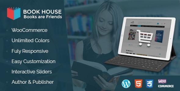 Book House WordPress - BookShop WP 1