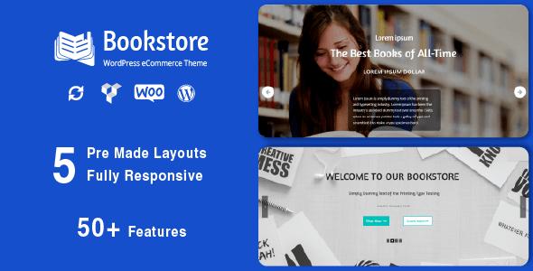 Book Store - Responsive WooCommerce Theme 1