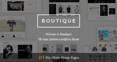 Boutique - Kute Fashion WooCommerce Theme ( RTL Supported ) 4